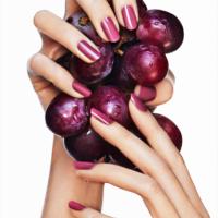 Adele Uddo grapes