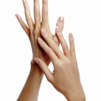 Adele Uddo hands